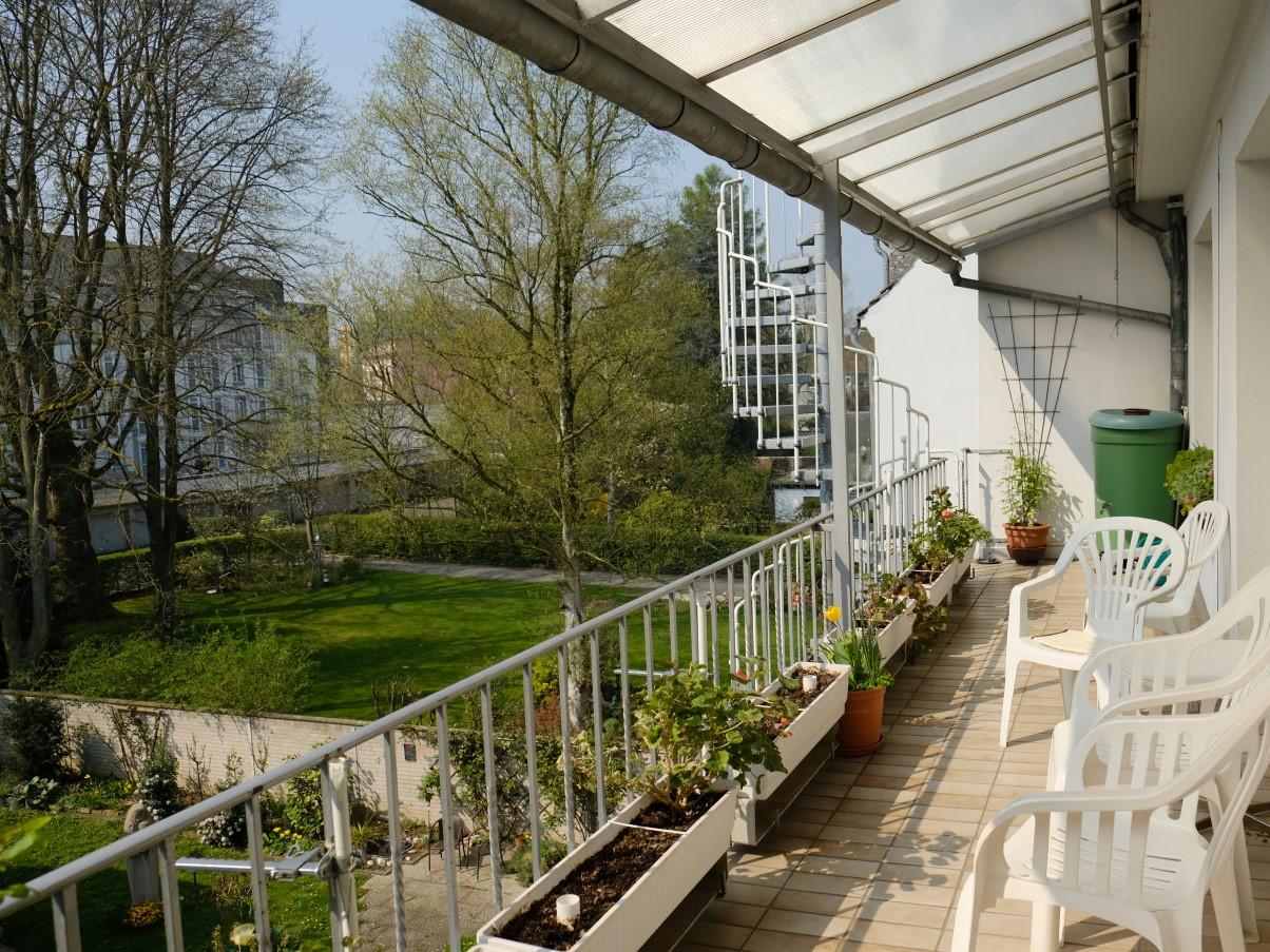 Franziskus-Garten-Balkon